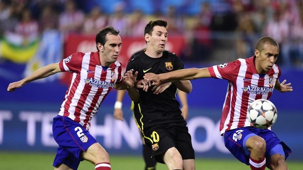 Messi goes missing - Lionel Messi delivered a subdued performance at Atletico Madrid's Vicente Calderon,  covering just 6.8km during the game, only 1.5km more than Barca goalkeeper Jose Manuel Pinto