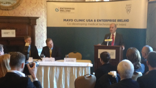 Mayo Clinic and Enterprise Ireland sign new five year deal