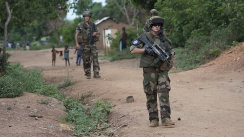 French and African peacekeepers have been struggling to halt the violence