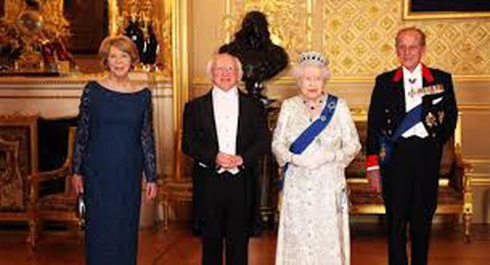 President Michael D visit to London