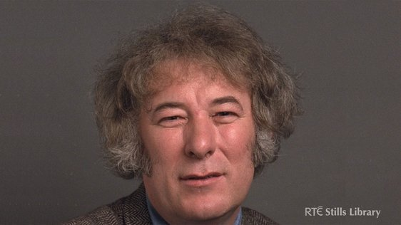 Seamus Heaney in 1983. © RTÉ Archives 2000/016