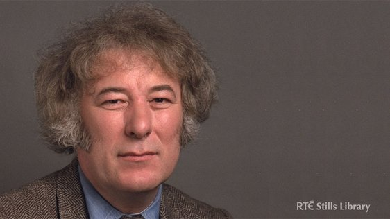 Seamus Heaney in 1983. © RTÉ Archives 2000/017
