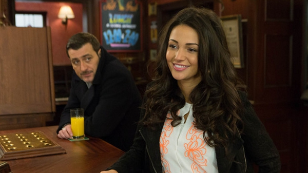 Tina turns up at The Rovers in a bid to win Peter back
