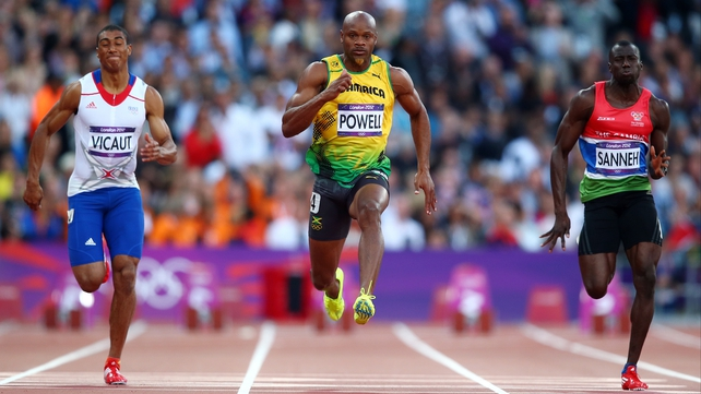 Asafa Powell tested positive for the stimulant oxilophrine