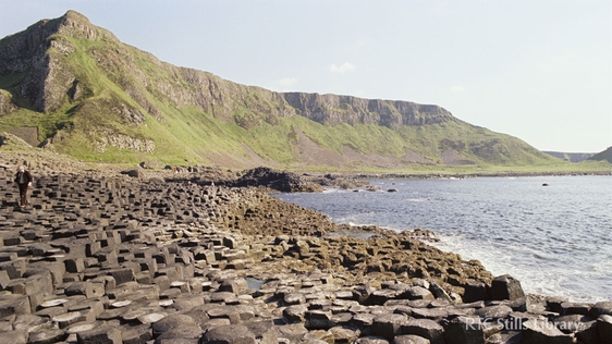 Giant's Causeway in Co. Antrim in 1979. © RTÉ Archives 2283/036