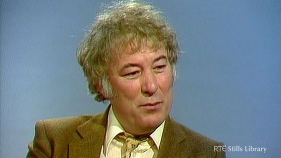 Seamus Heaney © RTÉ Archives 3031/007