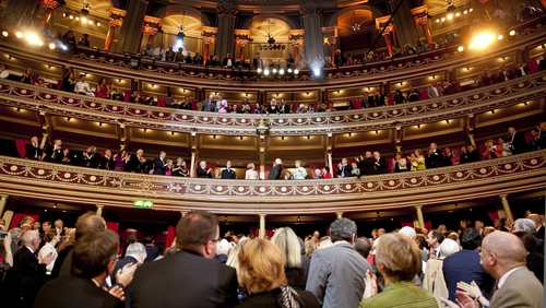President Michael D Higgins at the Royal Albert Hall