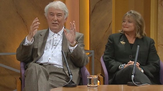 Seamus Heaney and Marie Heaney