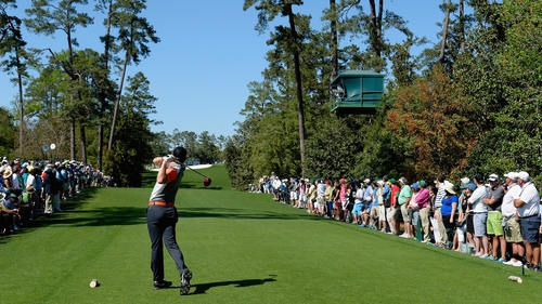 Rory McIlroy had an opening round of 71 in Augusta