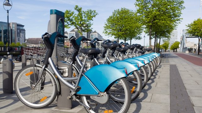 The increase is partly down to the use of the dublinbikes scheme