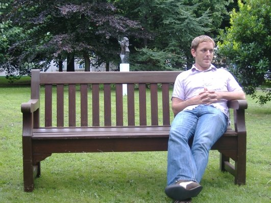 """Park Bench Questions - """"When was the last time you held hands with someone?"""""""