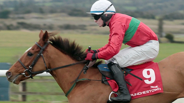 Kevin Sexton claimed the Ingard Point Mares Maiden Hurdle