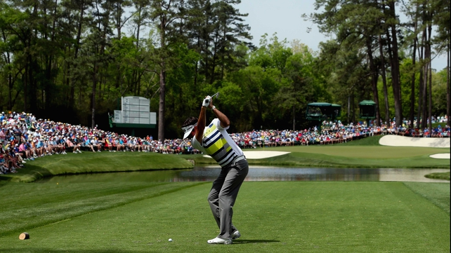 Bubba Watson is leading by three after Day 2 of The Masters