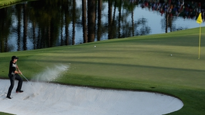 Rory McIlroy suffered on the second day of the Masters