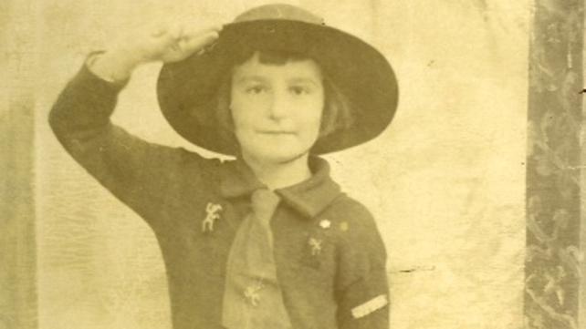 A proud member of the Greystones Brownies in 1921