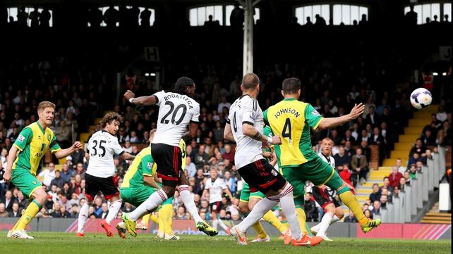 Hugo Rodallega gave Fulham a vital three points