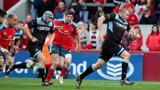Glasgow's Gordon Reid makes a break