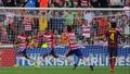 Barca slip-up in La Liga title race