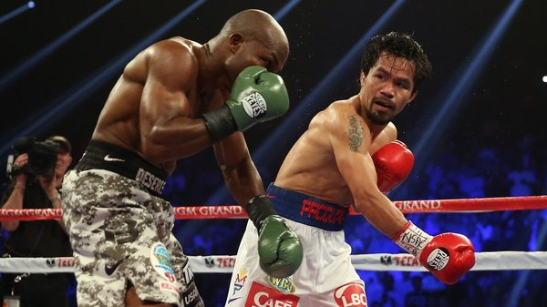 Manny Pacquiao was convincing in his victory over Timothy Bradley