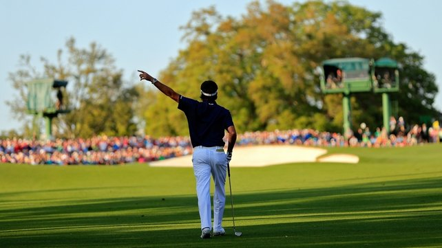 Bubba Watson has hit wayward shots into the 18th over the past couple of rounds. Can he win it on 18 today