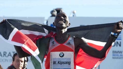 Wilson Kipsang was arrested in Kenya