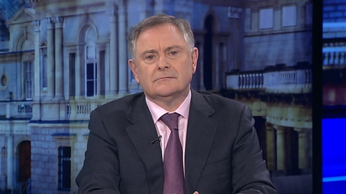 Brendan Howlin said the Government's economic strategy is working