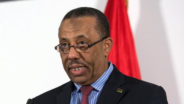Abdullah al-Thani has stepped down as Libyan Prime Minister