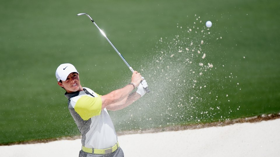 Rory hit the ball solidly all week but his short game let him down