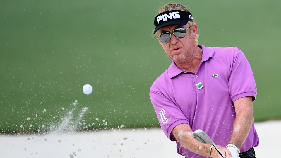 Miguel Angel Jimenez went on a late charge and will be delighted with his top four finish