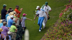 Jonas Blixt enjoyed his first visit to Augusta, finishing second to Bubba Watson, tied on five under with Jordan Spieth