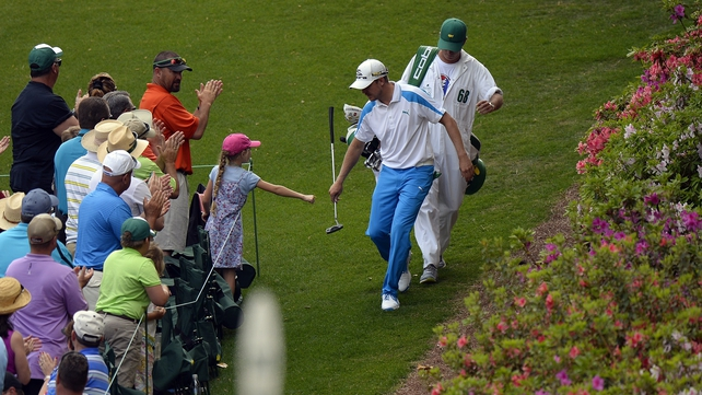 Jonas Blixt could do little to stop Bubba Watson claim his second Masters title