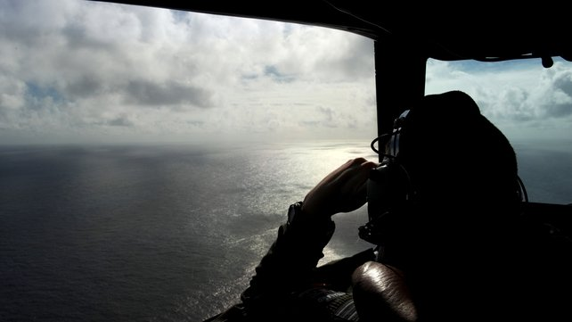There has been an extensive search for the missing aircraft