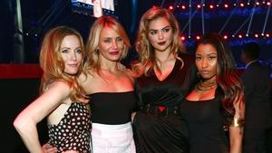 The Other Woman stars Leslie Mann, Cameron Diaz, Kate Upton and Nicki Minaj