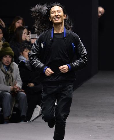 Alexander Wang leaving Balenciaga