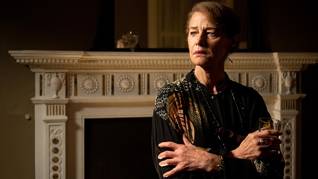 Charlotte Rampling is on top form yet again