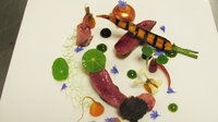 Starter: Squab Pigeon - A starter recipe from the Cliff House challenge