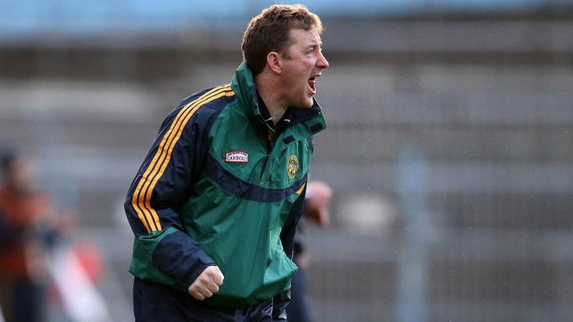 Offaly boss Brian Whelehan now has to get this side ready for a daunting tie with Kilkenny