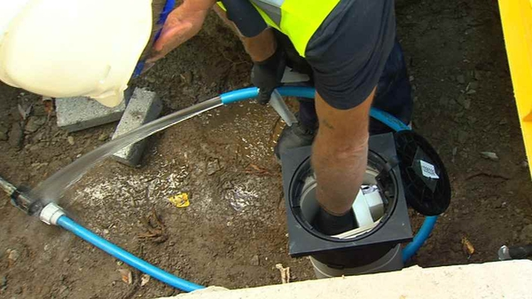 The installation of water meters has begun in a number of areas around the country