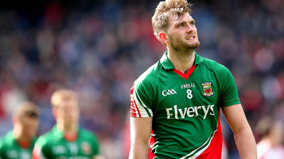 Same old story: Mayo's Aidan O'Shea dejected after another loss at Croke Park