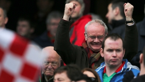 Much to the delight of Derry fan Martin McGuinness