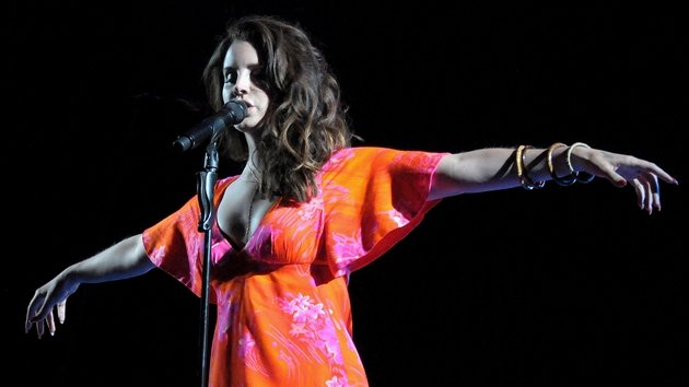Lana Del Rey performed the new track during her Coachella set