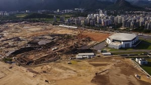 The Rio 2016 Olympic Park as photographed last November