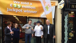 The winning ticket was sold in Staunton's Costcutter Express in Castlebar