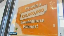 Winning EuroMillions ticket sold in Castlebar