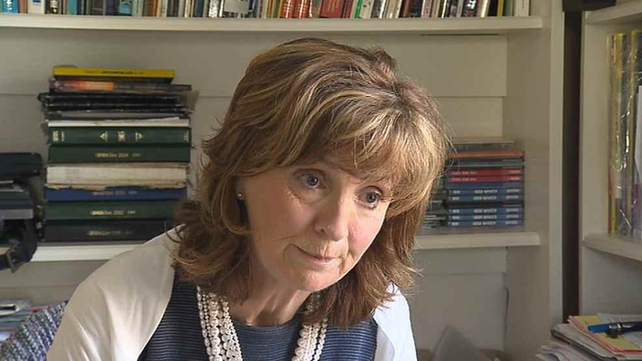 Adi Roche said finishing the work on building the shield was a critical issue