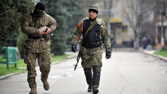 Escalation of tensions in eastern Ukraine