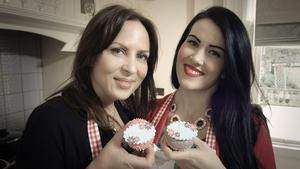 Aisli Madden and Cat Lawlor - Presenters of Domestic Divas