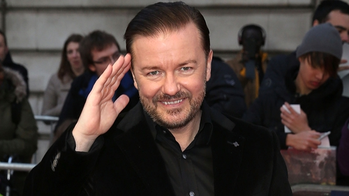 "Gervais: ""I'm responsible for a lot of it"""