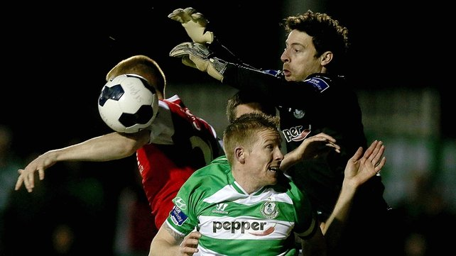 Barry Murphy was in fine form against St Pat's