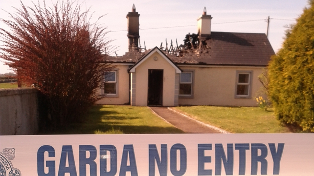 The house fire was near Headford in Co Galway